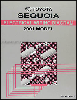 2001 Toyota Sequoia Wiring Diagram Manual Original | 2014 Toyota Sequoia Wiring Diagram |  | Faxon Auto Literature