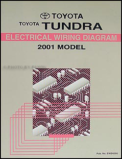 2001 toyota tundra wiring diagram manual original. Black Bedroom Furniture Sets. Home Design Ideas