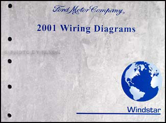 2001 Ford Windstar Wiring Diagram Manual Original