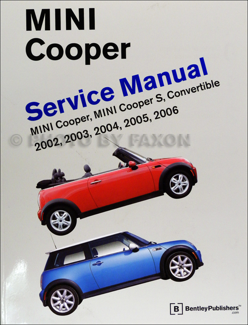 mini cooper owners manual 2006