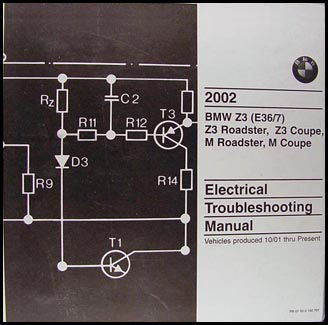 2002 BMW Z3 and M Roadster/Coupe Electrical Troubleshooting Manual