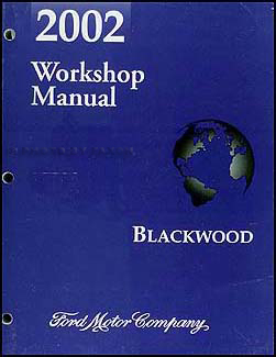 2002 Lincoln Blackwood Original Repair Manual