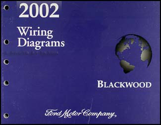 2002 Lincoln Blackwood Wiring Diagram Manual Original