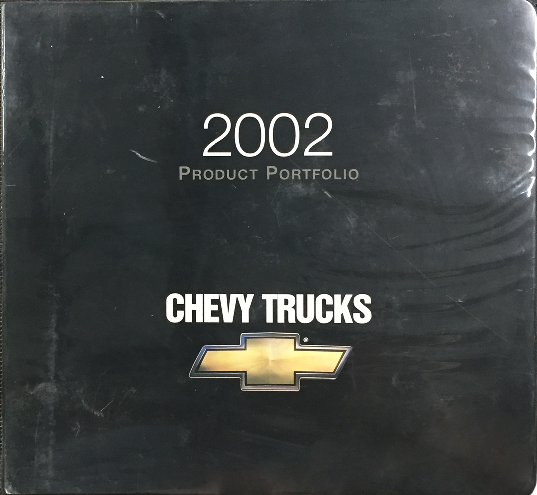 2002 Chevrolet Truck Color & Upholstery Dealer Album/Data Book Original