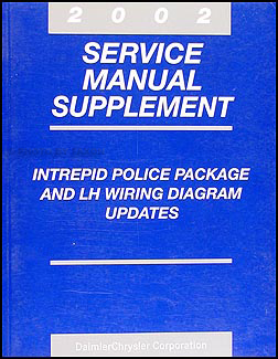 2002 Intrepid Police Package and LH  Wiring Diagram Original