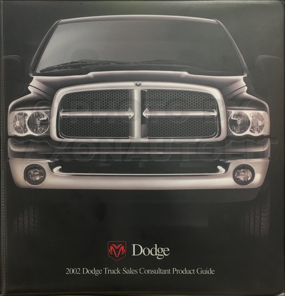 2002 Dodge Truck Sales Consultant Product Guide Original