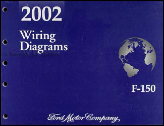 2002 Ford F-150 Wiring Diagram Manual OriginalFaxon Auto Literature