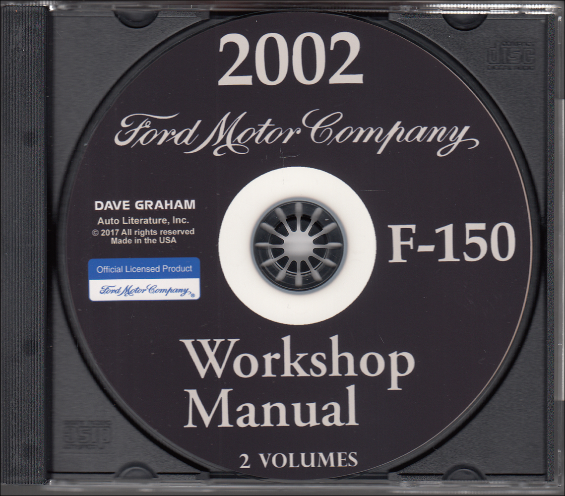 2002 Ford F 150 Wiring Diagram Manual Original Overhead Console Pickup Truck Repair Shop On Cd Rom