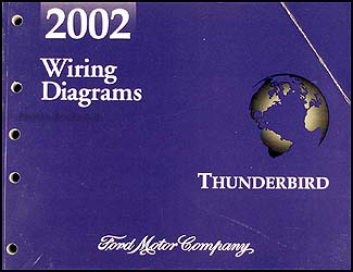2002 Ford Thunderbird Wiring Diagram Manual Original