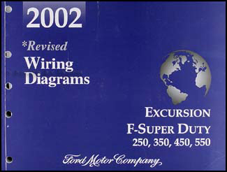 2002 ford excursion super duty f250 f350 f450 f550 wiring diagram manual ford f 350 starting wiring wiring diagram