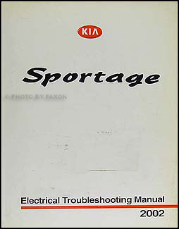 2002 Kia Sportage Electrical Troubleshooting Manual Original