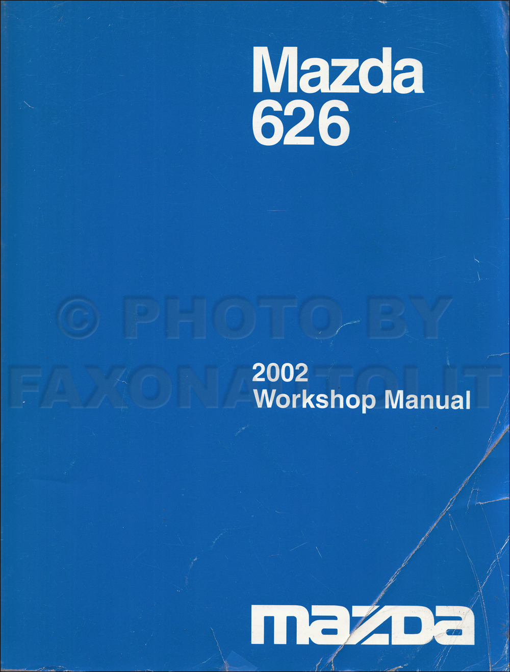 2001 Mazda 626 Repair Manual Original