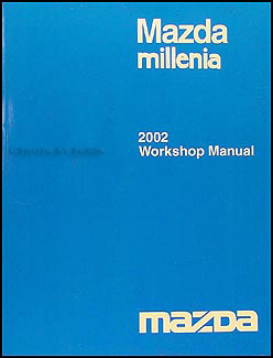 2002 Mazda Millenia Repair Manual Original