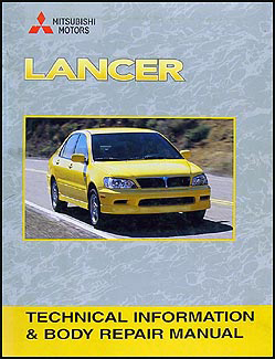 2002-2007 Mitsubishi Lancer Body Manual Original