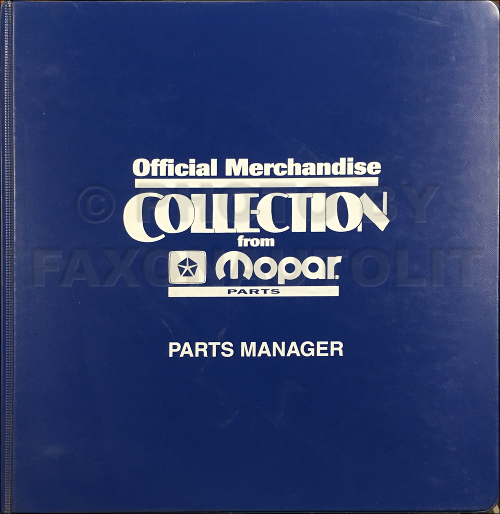 2002 Mopar Merchandise Collection Original