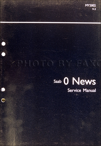 2002 Saab 9 3 Electrical System Wiring Diagrams Service Manual Vol 3 2