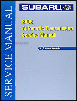 2002 Subaru Automatic Transmission Manual Original