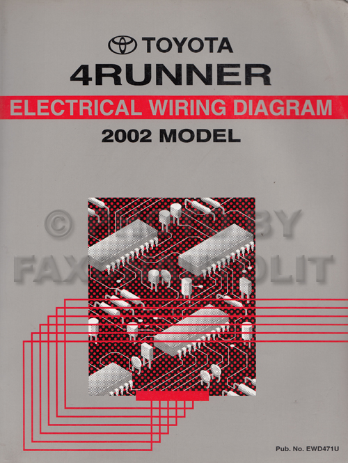 2002 toyota 4runner wiring diagram manual original Forester Wiring Diagram