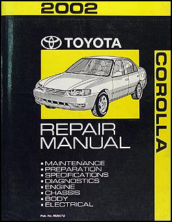 2002 toyota corolla wiring diagram manual original rh faxonautoliterature com Clymer Manuals GPX 250 Factory Service Manual