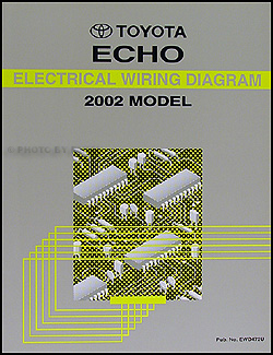 2002 Toyota Echo Wiring Diagram Manual Original