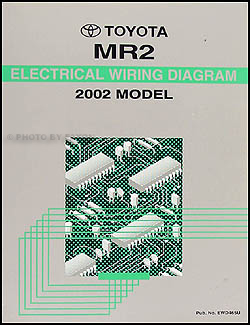 2002 Toyota MR2 Wiring Diagram Manual Original