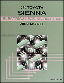 2002 Toyota Sienna Van Wiring Diagram Manual Original