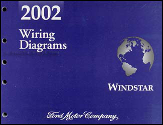 2002 Ford Windstar Wiring Diagram Manual Original