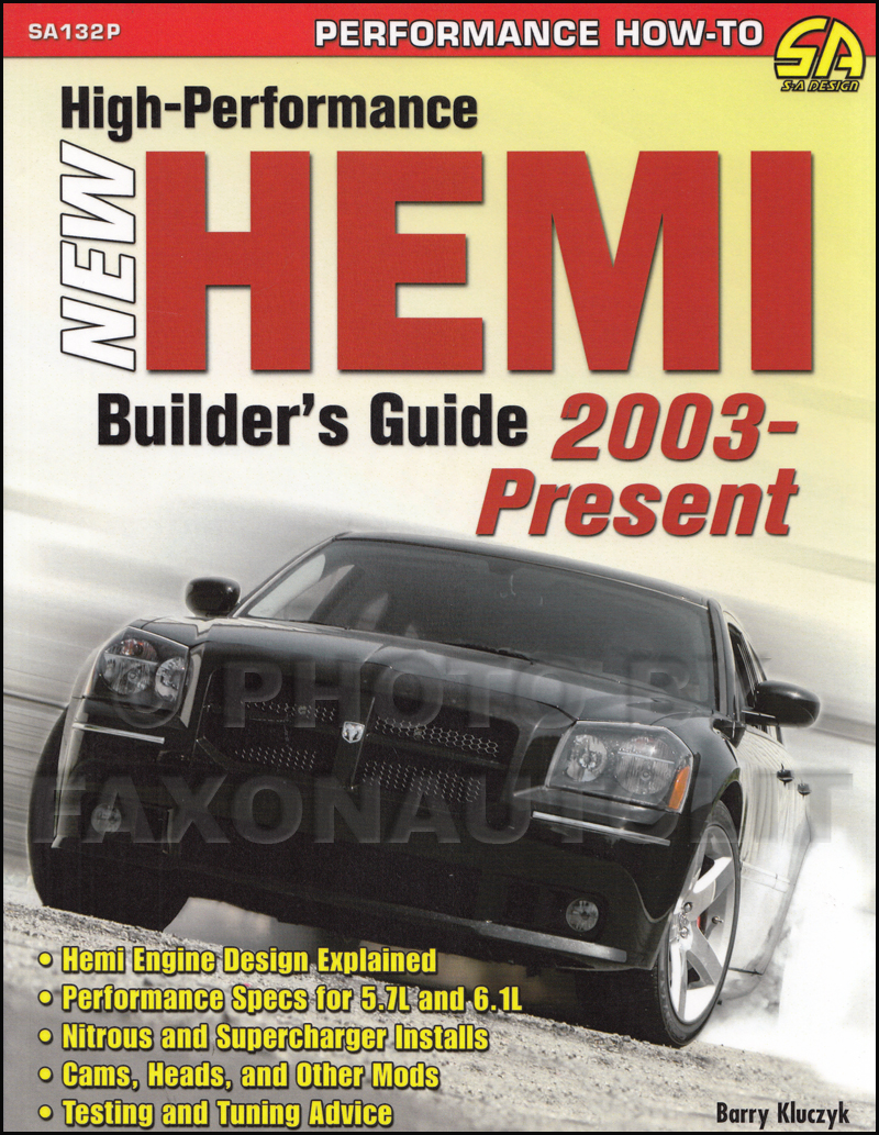 2003-2008 High-Performance New Hemi Builders Guide, COLOR edition