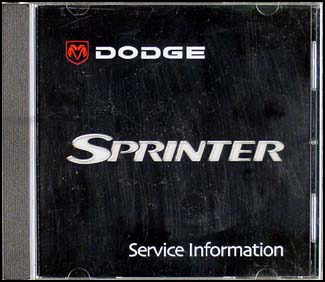 2003 Dodge Sprinter Van CD-ROM Shop Manual Original