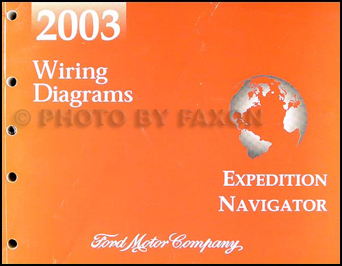 Brilliant 2003 Ford Expedition Lincoln Navigator Wiring Diagram Manual Original Wiring Database Gramgelartorg