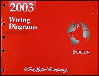 2003 ford focus wiring diagram manual original  faxon auto literature