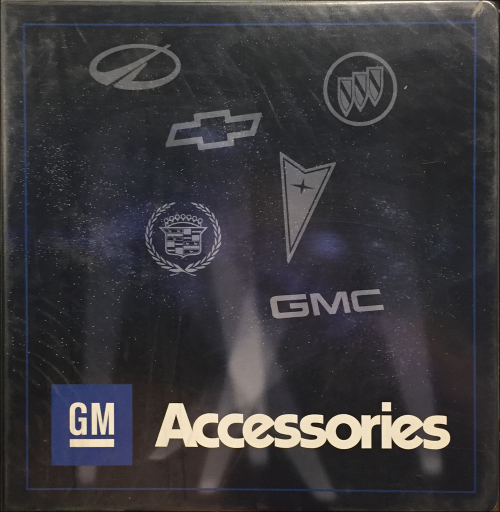 2003 GM Accessories Dealer Album Original