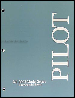 2003-2008 Honda Pilot Body Manual Original