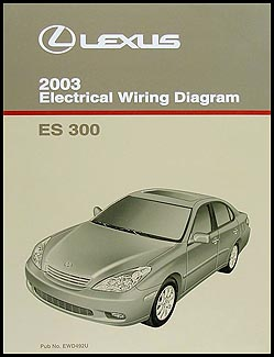2003 lexus es 300 wiring diagram manual original rh faxonautoliterature com