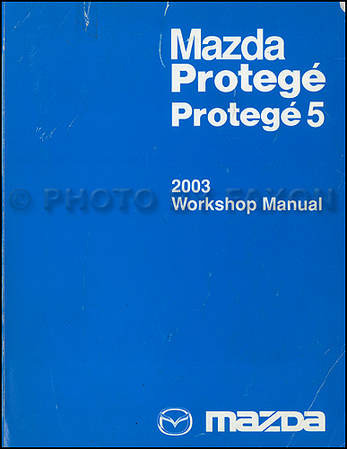 2002 Mazda Protege and Protege 5 Repair Manual Original