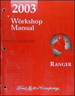 2003 Ford Ranger Repair Manual Original