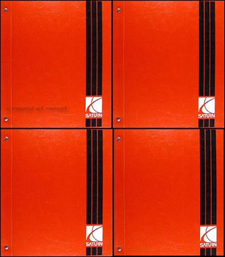 2002 2003 Saturn Vue Repair Manual 4 Volume Set Original