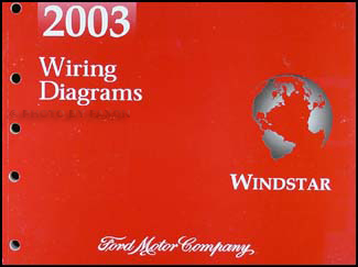 2003 Ford Windstar Wiring Diagram Manual Original