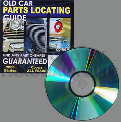 Find ANY Corvette Part with this CD Guaranteed!