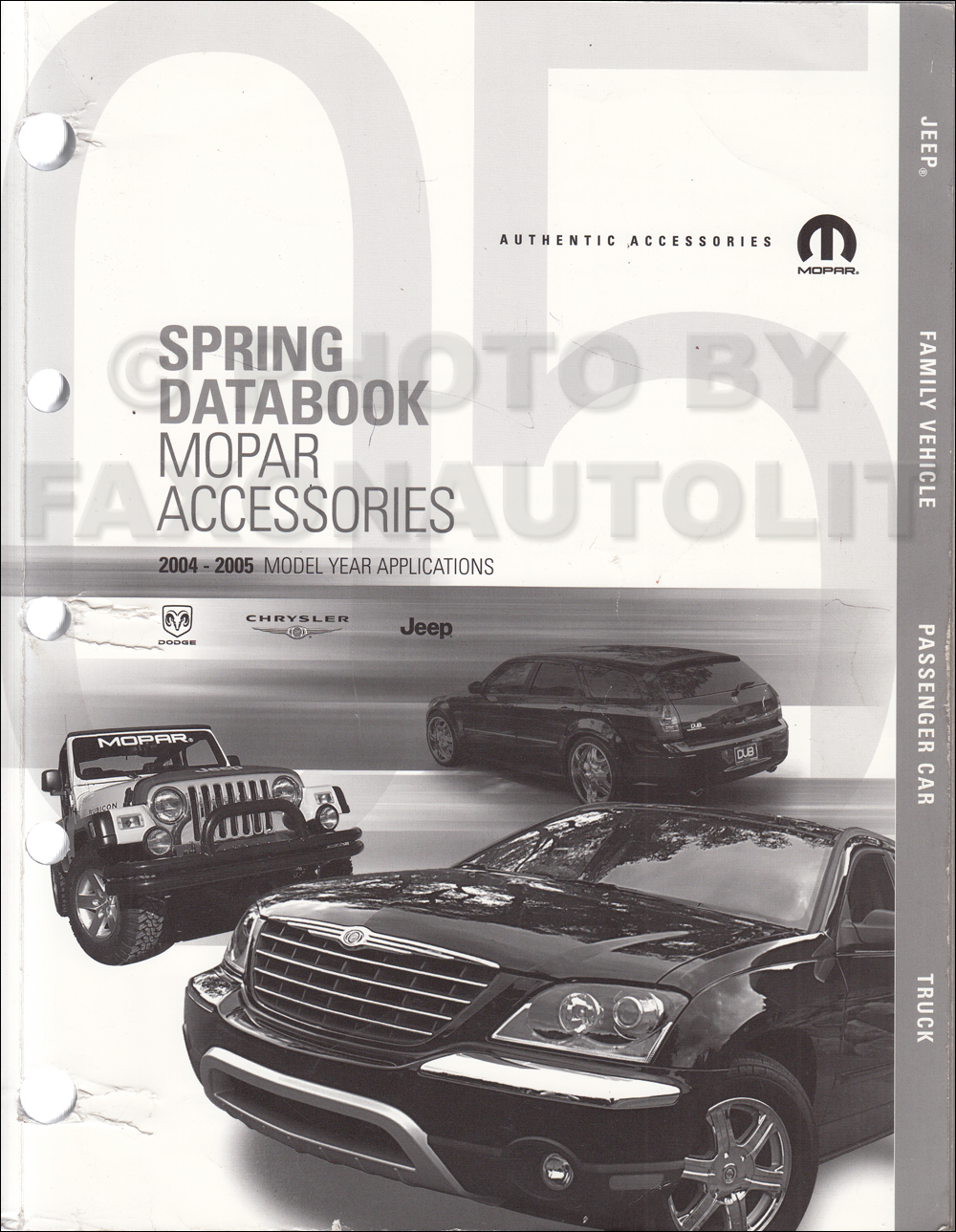 2004-2005 MoPar Accessories Databook Original Spring