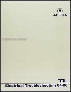 2004-2006 Acura TL Electrical Troubleshooting Manual Original