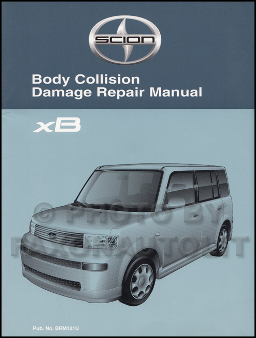 2006 Scion Xb Wiring Diagram Manual Original