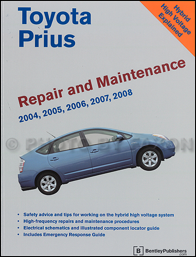 2004-2005 Toyota Prius Repair Manual Set
