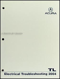 2004 Acura TL Electrical Troubleshooting Manual Original