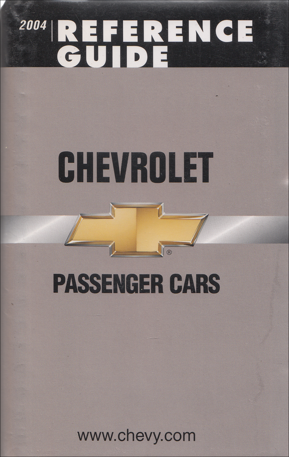 2004 Chevrolet Car Data Book with Color & Upholstery Original