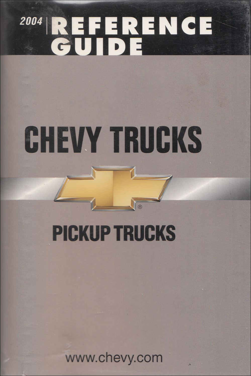 2004 Chevrolet Pickup Data Book with Color & Upholstery Original