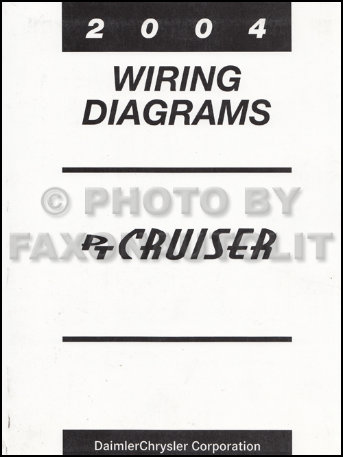 2004 Chrysler Pt Cruiser Repair Shop Manual Original