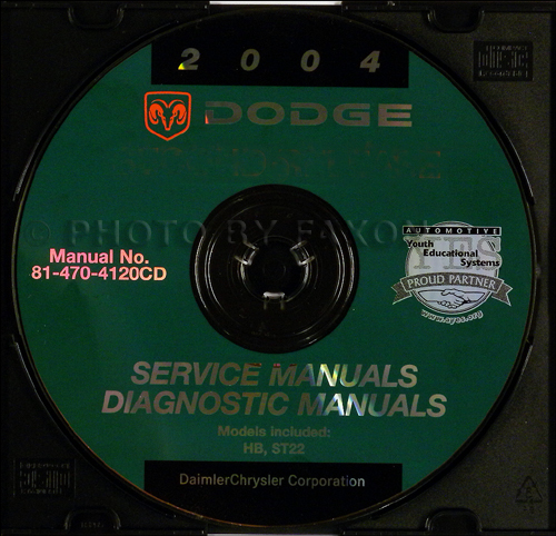2004 Dodge Shop Manual on CD-ROM