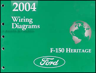2004 Ford F-150 Heritage and SVT Lightning Wiring Diagram Manual Original