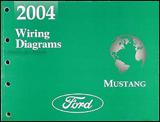 2004 Ford Mustang Wiring Diagram Manual OriginalFaxon Auto Literature